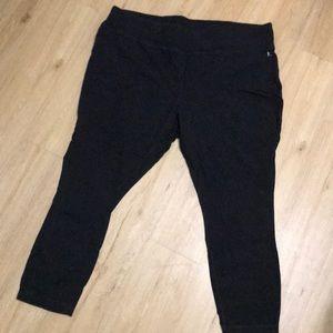 Plus size Danskin black leggings size 3x.